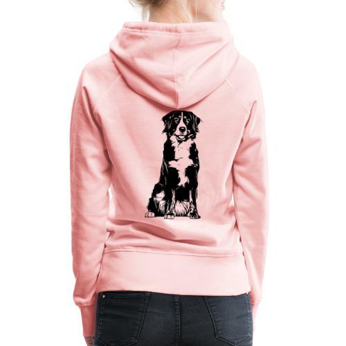 Berner Sennenhund Hunde Design Geschenkidee - Frauen Premium Hoodie