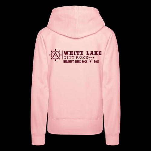 WhiteLakeCityRoxx_Querfor - Frauen Premium Hoodie