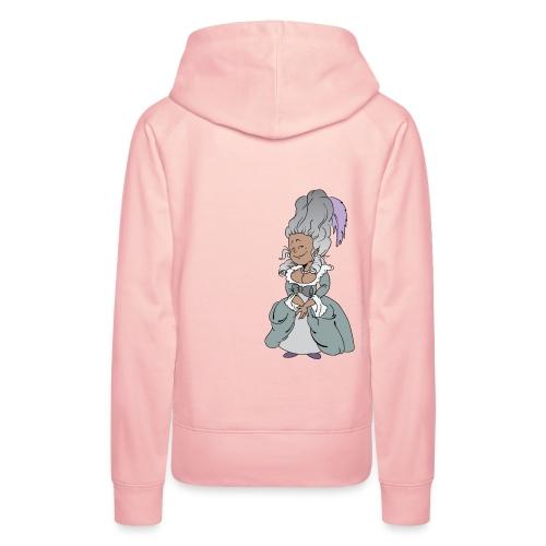 Happy Antoinette - Sweat-shirt à capuche Premium pour femmes