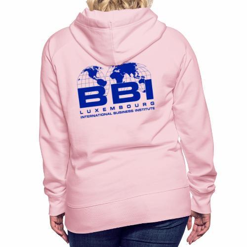 Blue Logo Collection - Women's Premium Hoodie
