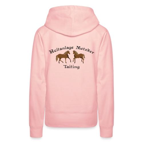 Reitstall Metzker Taiting - Frauen Premium Hoodie
