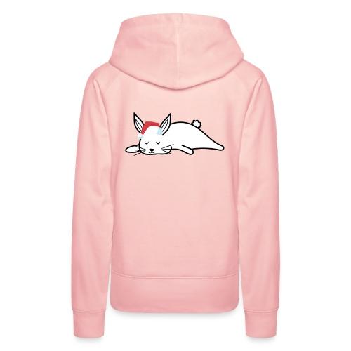 Süßes Kaninchen Design zu Weihnachten als Geschenk - Frauen Premium Hoodie