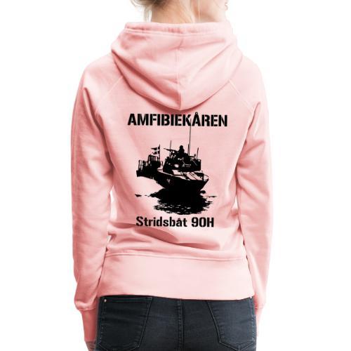 Amfibiekåren - Stridsbåt 90H - Premiumluvtröja dam