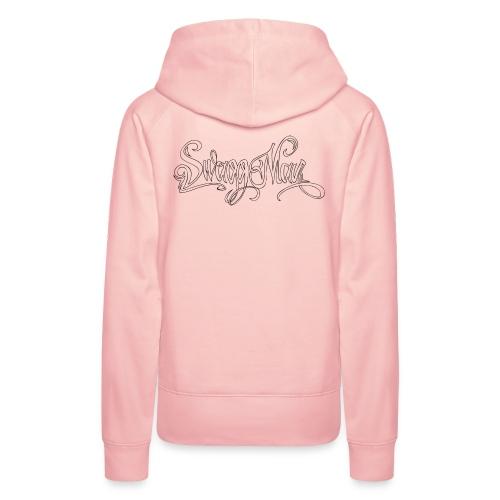 Swagg Man logo - Sweat-shirt à capuche Premium pour femmes