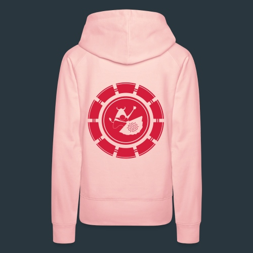 logo-jugntpellier_iron - Sweat-shirt à capuche Premium pour femmes