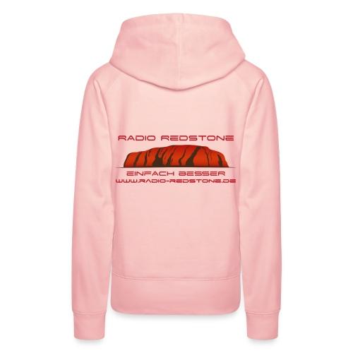 radio redstone logo url png - Frauen Premium Hoodie