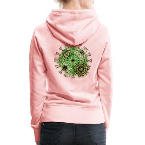 Virus 150220 ds. A - Women's Premium Hoodie