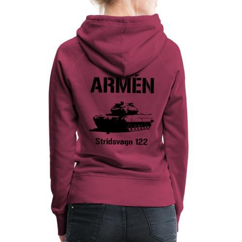 ARMÉN - Stridsvagn 122 - Premiumluvtröja dam