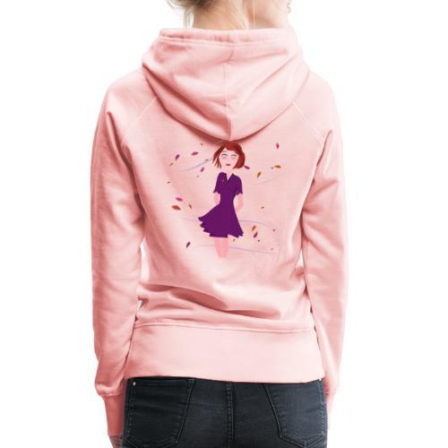 Herstwind - Sweat-shirt à capuche Premium pour femmes