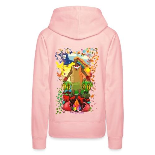 Mother Earth Creating - Vrouwen Premium hoodie