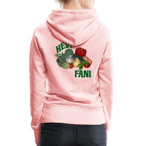 Hevi-fani - Naisten premium-huppari