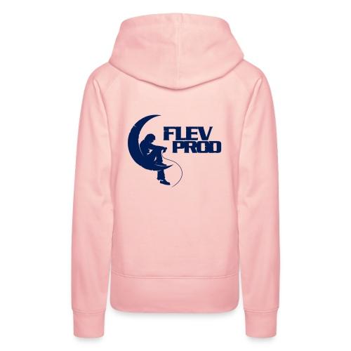 Logo Officiel Flèvprod - Sweat-shirt à capuche Premium pour femmes