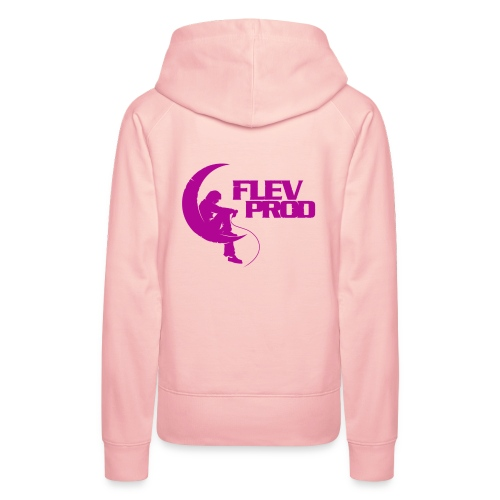 Flevprod Ladies - Sweat-shirt à capuche Premium pour femmes