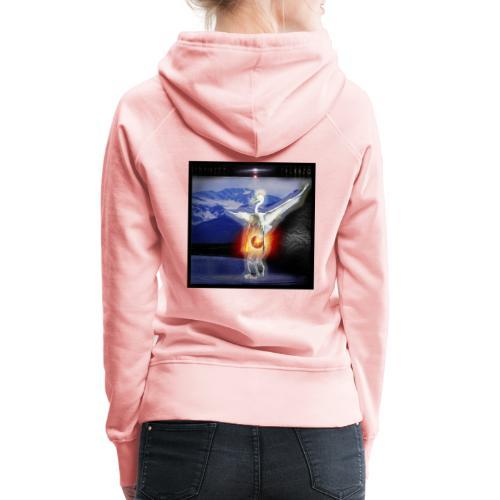 méditation 5 - Sweat-shirt à capuche Premium pour femmes