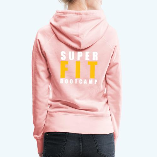 Superfit Logo on colour (non white) products - Women's Premium Hoodie