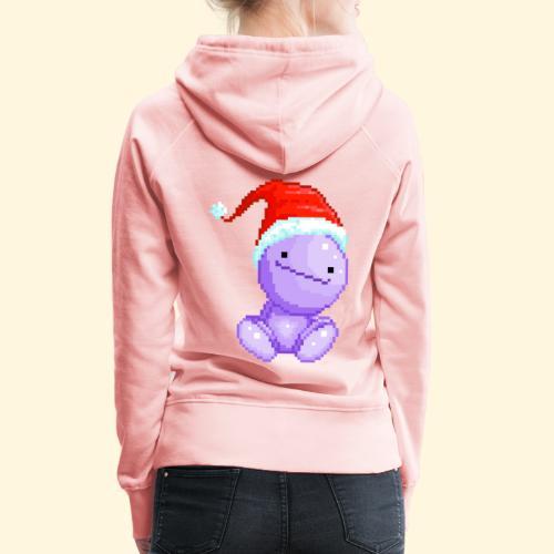 Nohohon de Noël - Bonnet du Père Noël - Sweat-shirt à capuche Premium pour femmes