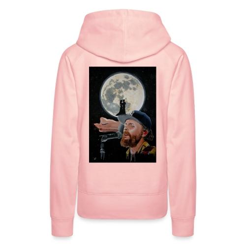 Chiaro di Luna - Felpa con cappuccio premium da donna