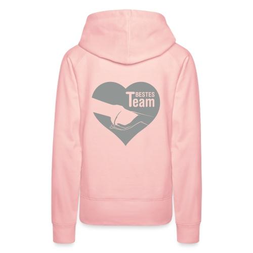 Vorschau: Bestes Team - Frauen Premium Hoodie