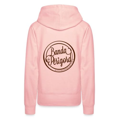 Banda Du Périgord - Sweat-shirt à capuche Premium pour femmes