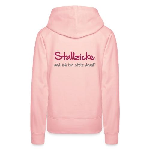 Vorschau: Stallzicke - Frauen Premium Hoodie