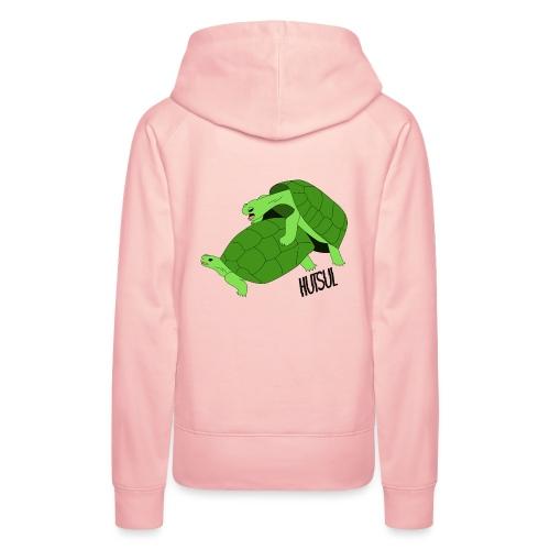 Turtle Hutsul - Sweat-shirt à capuche Premium pour femmes