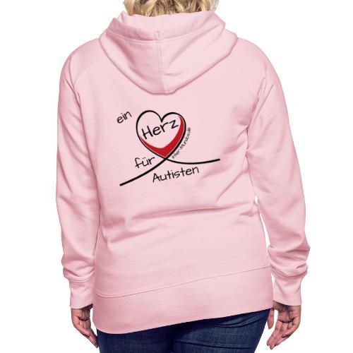 Ein Herz für Autisten - Frauen Premium Hoodie