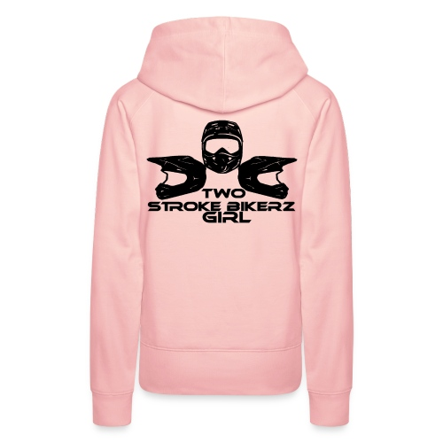 TSB Girl Logo schwarz png - Frauen Premium Hoodie