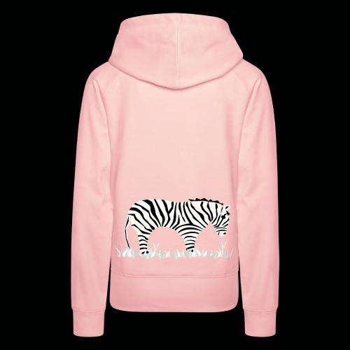 Zebra - Frauen Premium Hoodie