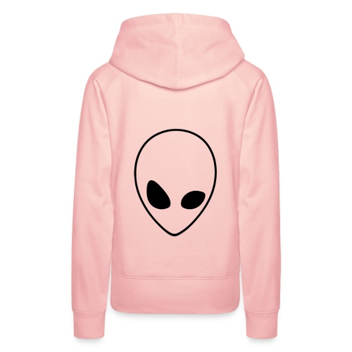 alien - Sudadera con capucha premium para mujer