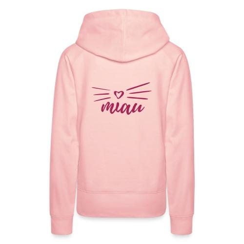 Vorschau: miau - Frauen Premium Hoodie
