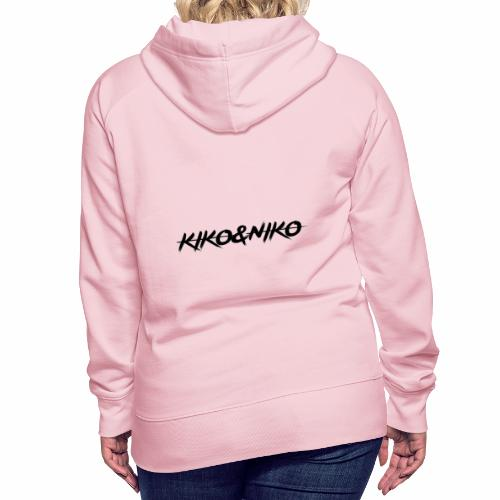 KIKO&NIKO STORE online. - Felpa con cappuccio premium da donna