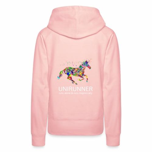 unirunner - alleen voor magische hardloopfans - Vrouwen Premium hoodie