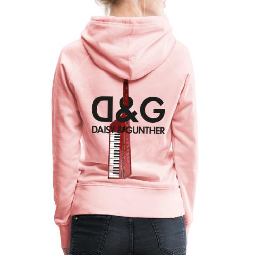 Met keytar-logo - Vrouwen Premium hoodie