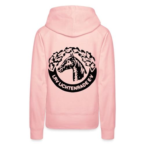 horse_logo_bag - Frauen Premium Hoodie
