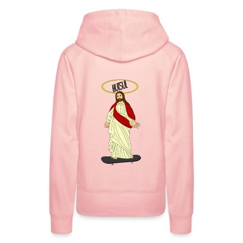 Jesus Hutsul - Sweat-shirt à capuche Premium pour femmes