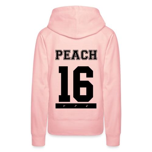 Peach 16 - Frauen Premium Hoodie