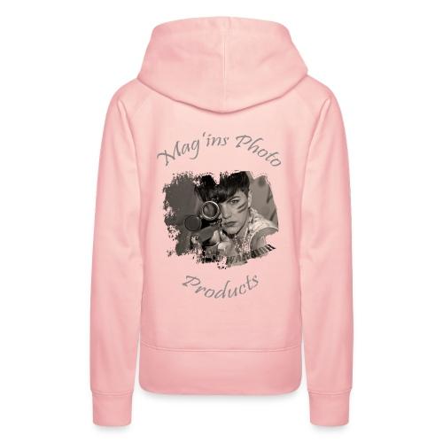Mag'ins Photo Products 1 - Sweat-shirt à capuche Premium pour femmes