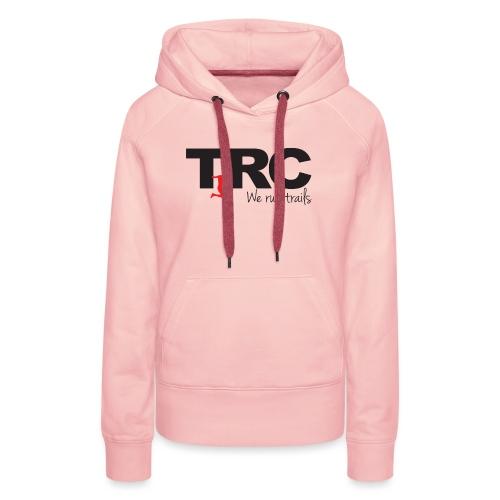 Trailman Running Club Cotton Shirts - Dame Premium hættetrøje