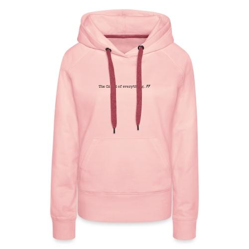 Cause77 TheCause Black - Vrouwen Premium hoodie
