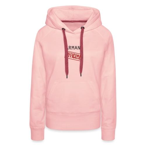 OFFICAL ARMAN - Vrouwen Premium hoodie