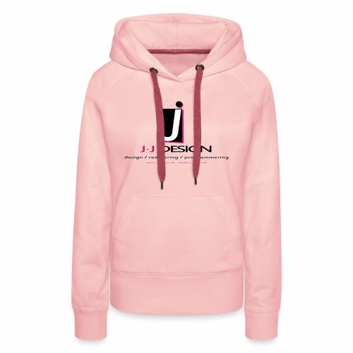LOGO_J-J_DESIGN_FULL_for_ - Dame Premium hættetrøje