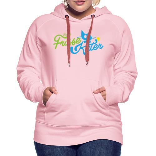 Frisse Kater Logo Kleur - Vrouwen Premium hoodie