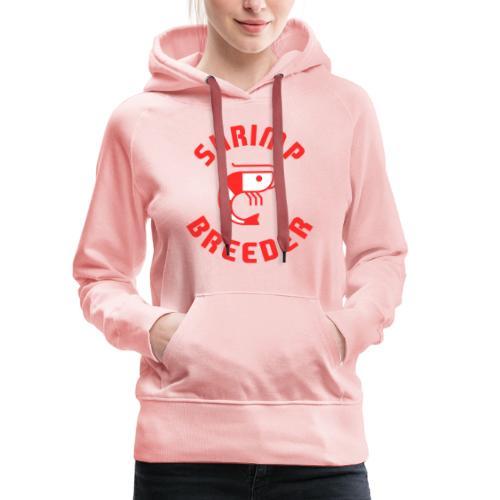 SHRIMP FARMER AQUARIUM CRS RED - Sweat-shirt à capuche Premium pour femmes