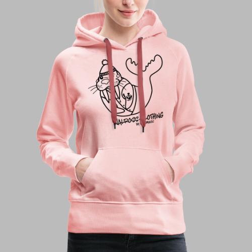 Walross-Clothing by Vaosmusic - Frauen Premium Hoodie