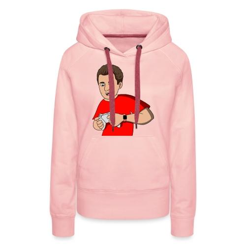 Cartoon Gam3r4Fun red - Women's Premium Hoodie