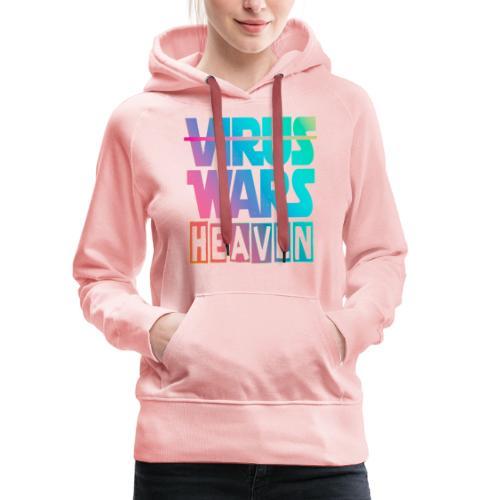 HEAVEN WARS - Sweat-shirt à capuche Premium pour femmes