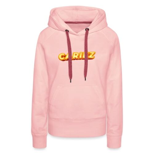 Cariez logo HQ - Premiumluvtröja dam