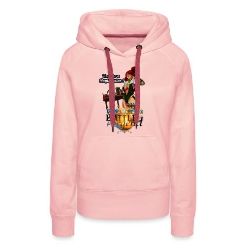 Mythrilisatrice- Battle for Legend X 01Musculation - Sweat-shirt à capuche Premium pour femmes