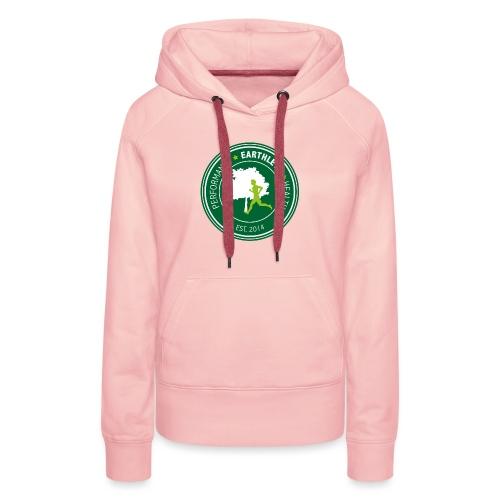 EARTHLETE Brand Logo - Dame Premium hættetrøje
