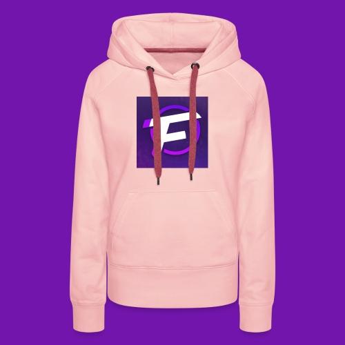 Flux Clan Logo - Women's Premium Hoodie